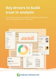 Key Drivers to Build Trust in Analysis